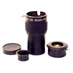 "2"" 2X ED Barlow Lens w/ 1.25"" Reducer"