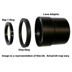 Digi-Kit Telescope Camera Adapter for Panasonic DMC-FZ8, DMC-FZ7 & DMC-FZ5